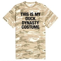 This is my DUCK DYNASTY costume-Unisex Sand T-Shirt