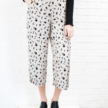 Shadow Floral Print Pant