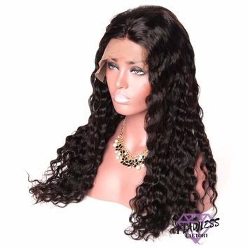 Brazilian Water Wave 360 Lace Frontal Wig