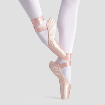 Professional Ballet dance Satin Dance Ballet Pointe Shoes Childrens Girls Adult Wome