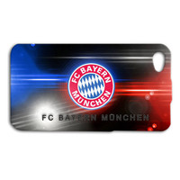 FC Bayern Munich Soccer Football German Custom Case for iPhone 5/5s and iPhone 4/4s