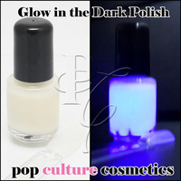 Cassiopeia Glow In The Dark Luminous Collection Nail Polish Custom-Blended - Large Bottle - 15ml