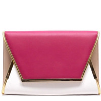 Piper Color Block Clutch