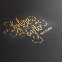 Unique Signature #01 Typographic logotype signature / Personal trademark for you or your business / Personalised present for your loved ones