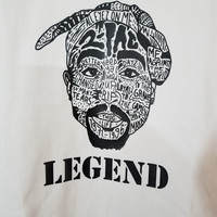 Short Sleeve Tupac Legend