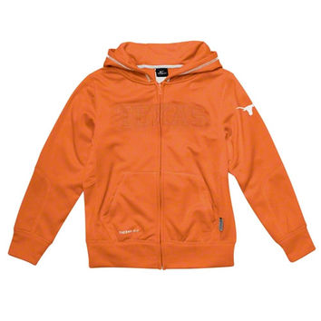 Nike Texas Longhorns Youth Dreams Therma-Fit Full Zip Jacket - Burnt Orange