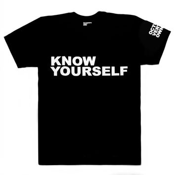 Know Yourself Shortsleeve T-Shirt | October's Very Own