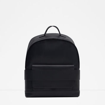 WIDE STRAP BACKPACK