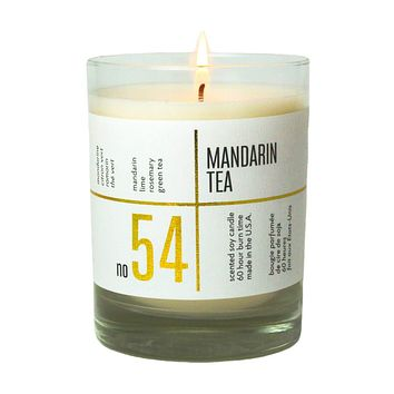 No. 54 Mandarin Tea Scented Soy Candle
