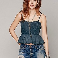Free People Womens Wild Woods Tube Top -