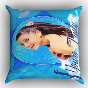 Ariana Grande Yours Truly Y0397 Zippered Pillows  Covers 16x16, 18x18, 20x20 Inches