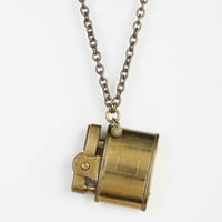 Lux Revival X Urban Renewal '40s Brass Lighter Necklace - Urban Outfitters