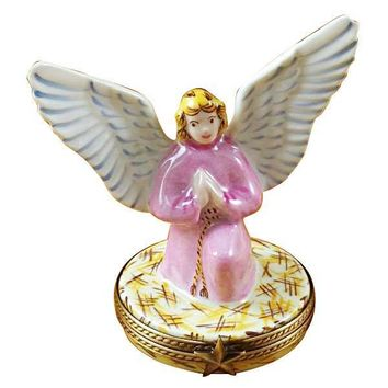 ANGEL GABRIEL LIMOGES BOXES