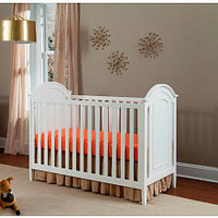 Westwood Design Harper 3-in-1 Cottage Panel Crib - White