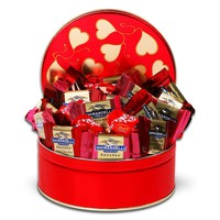 Ghirardelli Chocolate Squares Valentine's Day Gift Tin Set