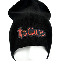 The Cure Beanie Goth Music Knit Cap Robert Smith
