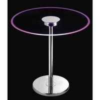 Kenroy Home Spectral 20 in. Color Changing Round LED Table Lamp 32176GCH at The Home Depot - Mobile