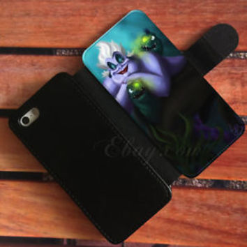 Ursula Little Mermaid Wallet iPhone Cases Disney Samsung Wallet Leather Cases