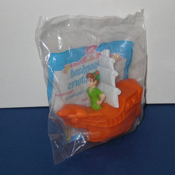 1994 McDonalds Disneyland Adventure Peter Pan in Fantasmic Sealed Toy