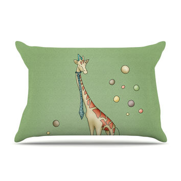 "Carina Povarchik ""Giraffe"" Pillow Case"