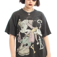 Vintage 90's V Rare Grunge Mickey Tee - One Size Fits Many