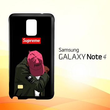 Yeezy Taught Me Supreme X5006  Samsung Galaxy Note 4 Case