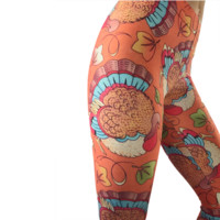 Thanksgiving Turkey Leggings