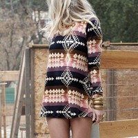 Show Me Your Mumu John Bell Sweater in Baja Mix