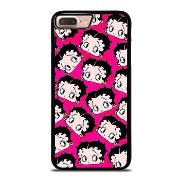 BETTY BOOP FACE COLLAGE iPhone 8 Plus Case Cover