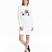 H&M Sweatshirt Dress $24.99