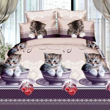 ac VLXC Bedroom On Sale Hot Deal Hot Sale Cool Print Bedding Set [9393095180]