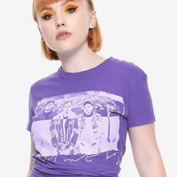 Fall Out Boy Scribble Photo Girls T-Shirt