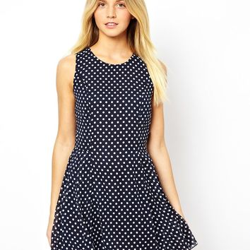 Love Polka Dot Skater Dress