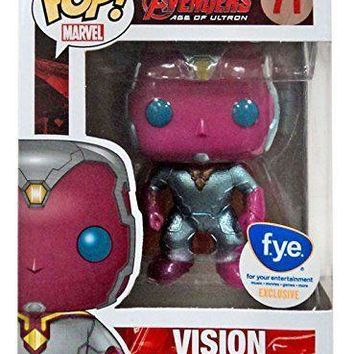 METALLIC Vision Age of Ultron Funko Pop! Vinyl Figure #71 f.y.e. Exclusive