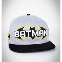 Batman Logo Snapback Hat