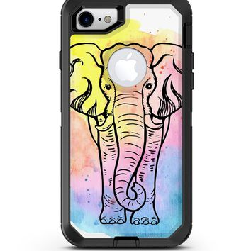 Sacred Watercolor Elephant - iPhone 7 or 8 OtterBox Case & Skin Kits