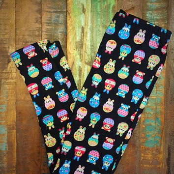 Easter Bunny Print Leggings Kids