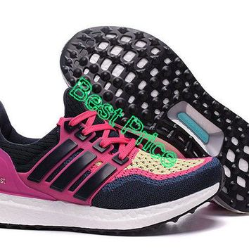 Sneaker paint WMNS adidas Ultra Boost PrimeKnit 2016 GS Raspberry Fireberry Purple Yellow new sneaker