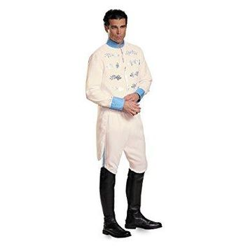 Men's Prince Charming Adult Deluxe Costume