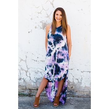 A Way With Words Tie Dye Maxi Dress