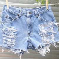 Vintage LEE Denim Cutoffs
