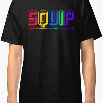 SQUIP -Be More Chill Men's T Shirt Black  O Neck T-Shirts Male Low Price Steampunk Men Short Sleeve Original