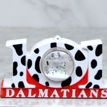 Vintage McDonalds Walt Disney 101 Dalmatians Snow Dome Dalmatian Celebration 1996