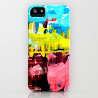 Color Abstract 4 iPhone & iPod Case by Claudia McBain