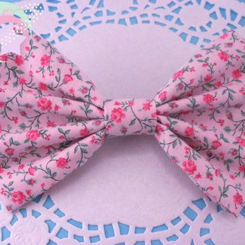 Sleeping Beauty Floral Bow