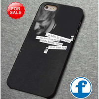 Ed Sheeran quotes    for iphone, ipod, samsung galaxy, HTC and Nexus PHONE CASE