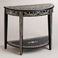 Kiran Faux Inlay Foyer Table | World Market