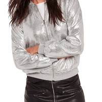 Missguided | Metallic Bomber Jacket | Nordstrom Rack