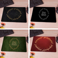 Movie The Lord of The Rings elf language  Logo Mousepad Mouse Pad pc mac laptop notebook usb hwd Gamer