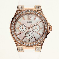 Feminine Sport Watch - Rose Gold at Guess